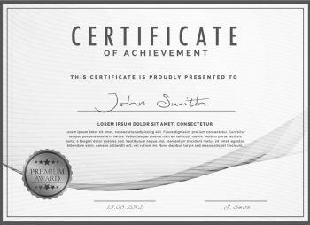 Certificate: John Smith